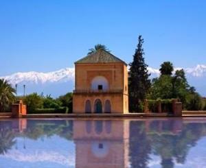 marrakech giardini della menara