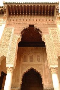 marrakech palazzo della bahia