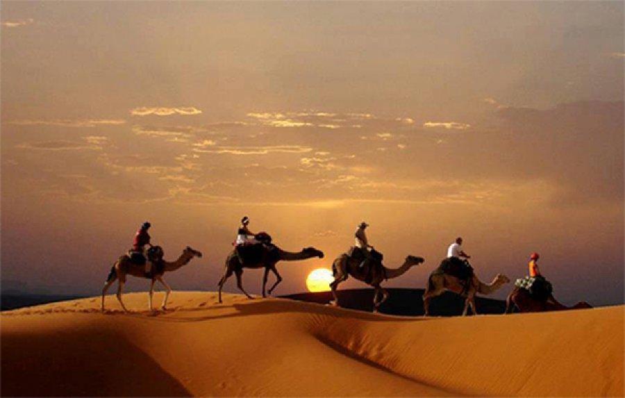 Marocco Mehari nel deserto