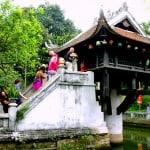 N245.One pillar pagoda