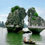 U035.Ga Choi Islet in Ha Long bay
