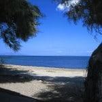 monolithos spiaggia