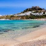spiaggia Lindos Rodi