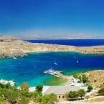 Lindos spiaggia Rodi