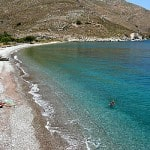 spiaggia di lethra Tilos