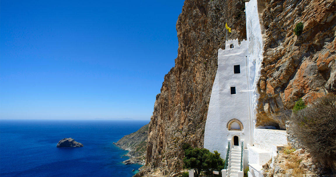 Amorgos vacanza tra mare blu cobalto e panorami sogno