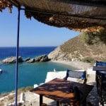 Spiaggia di Agios Nikolaos Taverna Folegrandos