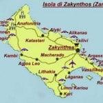 mappa zante