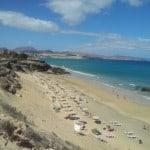 Playa esmeralda costa calma