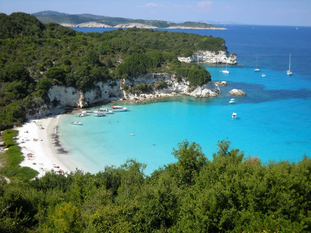 Paxos spiagge incantate e relax